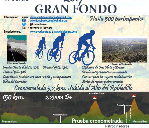 I Marcha Cicloturista de Carretera Gran Fondo Menasalbas- Montes deToledo